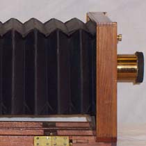 Hattie Goodnow's Putnam Marvel 5x8 Plate Camera, c1895