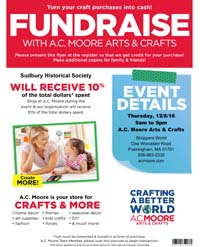 A.C. Moore Shopping Day Fundraiser
