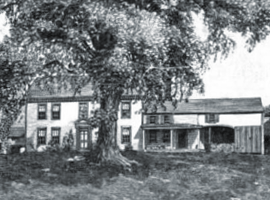 The Loring Parsonage circa 1890